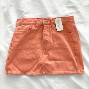NEW! Coral Mini Skirt